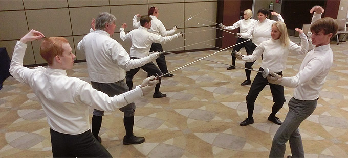 Fencing classes / lessons at the West Jupiter Recreation Center